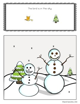 WINTER Create-a-Scene Interactive Book BUNDLE (Christmas, Valentine's, Snowman)