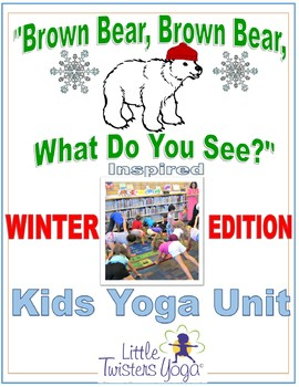"""WINTER EDITION """"Brown Bear, Brown Bear, What Do You See"""" K"""