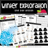 WINTER EXPLORATION Preschool PreK Kindergarten 1-Day Lesson Plan