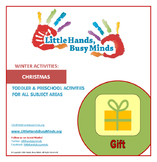 WINTER: FREE Christmas Weekly Thematic Unit for Toddlers & Preschoolers