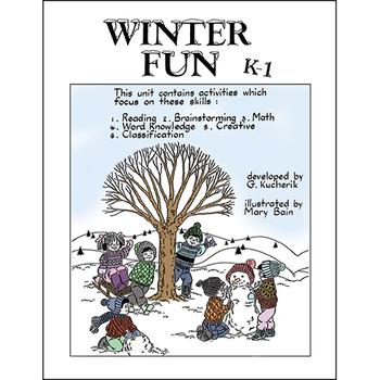WINTER FUN Gr. K-1