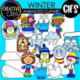 WINTER GIFs: Animated Clipart (Creative Clips GIFs)