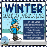WINTER Grab & Go Language Cards