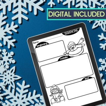 WINTER | Graphic Organizers for Reading | Reading Graphic Organizers