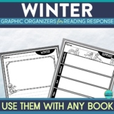 WINTER | Graphic Organizers for Reading | Reading Graphic