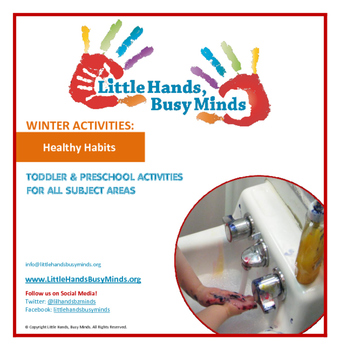 WINTER: Healthy Habits- Weekly Thematic Unit for toddlers/Pre-K
