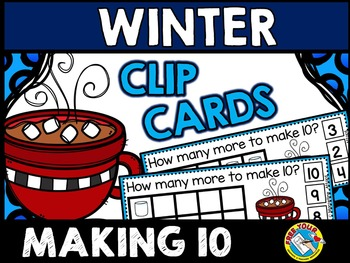 WINTER MATH CENTERS: MAKING 10 MARSHMALLOWS