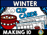 WINTER MATH CENTER KINDERGARTEN (MARSHMALLOWS MAKING 10 TO ADD ACTIVITIES)