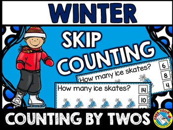 WINTER SKIP COUNTING CLIP CARDS