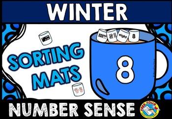 WINTER ACTIVITIES KINDERGARTEN (NUMBER SENSE GAME) HOT CHOCOLATE MATH