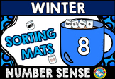 WINTER ACTIVITIES KINDERGARTEN (NUMBER SENSE GAME) HOT CHO