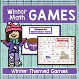 WINTER MATH GAMES - NO PREP