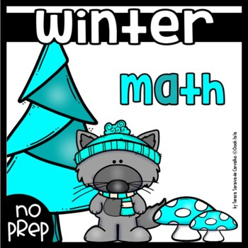 WINTER MATH - NO PREP