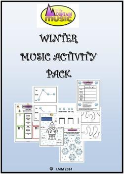 WINTER MUSIC ACTIVITY PACK