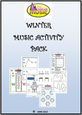 WINTER MUSIC ACTIVITY PACK
