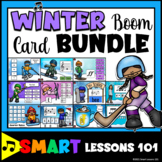 WINTER MUSIC BOOM CARD BUNDLE Music Rhythms Notes Tempo Dy