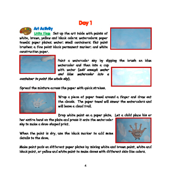 Martin Luther King, Jr.- Mini Thematic Unit for toddlers/Pre-K