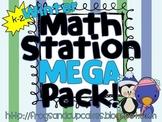 WINTER Math Station MEGA Pack! K-2