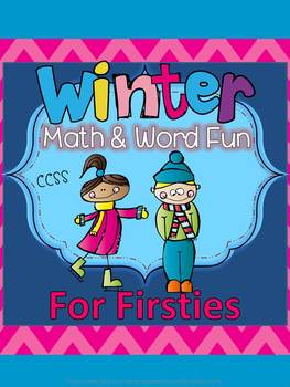 WINTER Math and Word Fun Common Core First Grade
