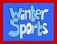 WINTER OLYMPIC BINGO 2014 Calling Cards