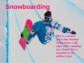 WINTER OLYMPICS Powerpoint Slideshow