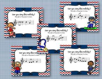 WINTER Games! Interactive Melodic Practice BUNDLE - 5 GAMES!