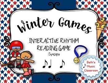 WINTER Games! Interactive Rhythm Practice Game - Syncopa