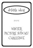 WINTER PICTURE SUDOKU CHALLENGE - MATH FUN