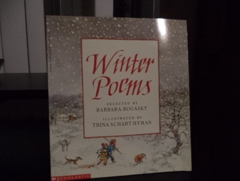 WINTER POEMS             ISBN  0-590-42873-X