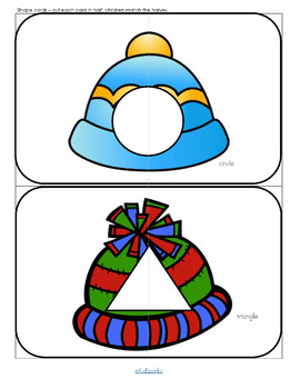 WINTER Math and Literacy Centers and Activities for Preschool and Pre-K