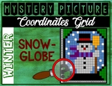 WINTER SNOWGLOBE Coordinates Grid Mystery Picture