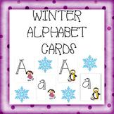 WINTER SPORT ALPAHBET CARDS