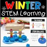 WINTER STEM Challenges Activities Task Cards January STEM