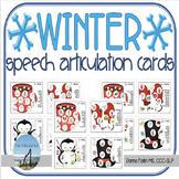 WINTER Speech Articulation Cards