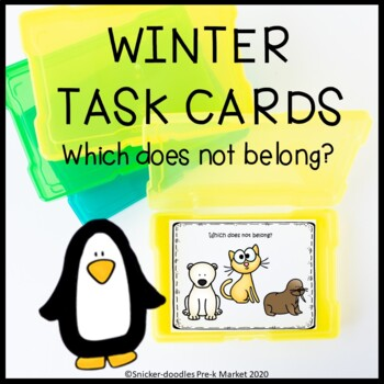 WINTER TASK CARDS