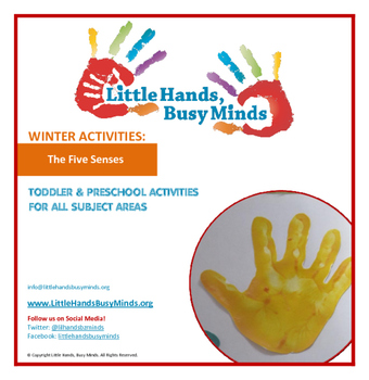 WINTER: The Five Senses- Weekly Thematic Unit for Toddlers/Pre-K