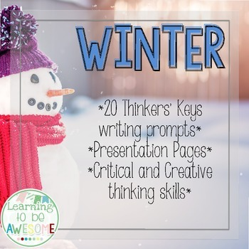 Writing Prompts - Winter Theme - Thinker's Keys