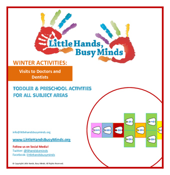 WINTER: Visits to Doctors and Dentists- Weekly Thematic Unit for toddlers/Pre-K