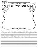 WINTER/SNOW DAY Writing {Kindergarten}