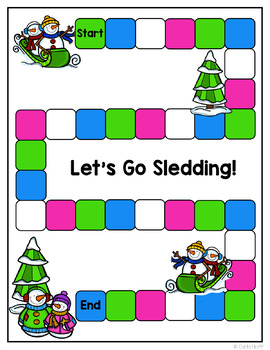 Winter Word Work Centers and Sorts - Long Vowels & Digraphs