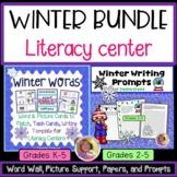 WINTER WRITING LITERACY BUNDLE