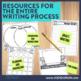 WINTER WRITING PROJECT {aligned with Common Core K-4} bulletin board / portfolio