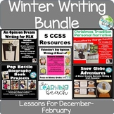 WINTER Writing Bundle *5 Resources* Gr. 2-5 {December-March}