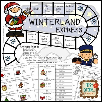 WINTERLAND Express - Rhyming Words