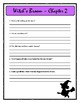 WITCH'S BROOM by Ruth Chew - Comprehension & Text Evidence
