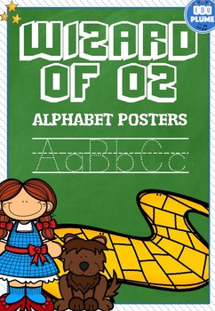 WIZARD OF OZ THEMED ALPHABET POSTERS