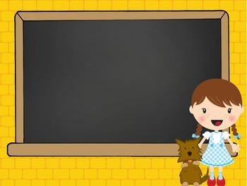 DOROTHY & OZ - PowerPoint, Open House, Curriculum Night, Meet the Teacher