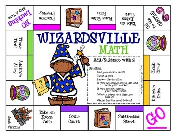 WIZARDSVILLE - Addition & Subtraction Facts to 20