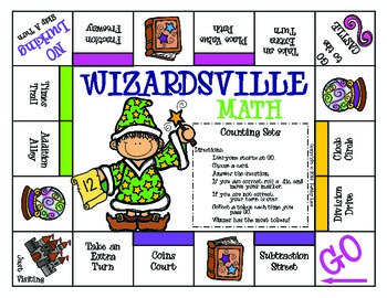 WIZARDSVILLE MATH - Counting Sets