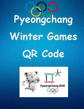 Winter Games QR Code Pyeongchang Freebie